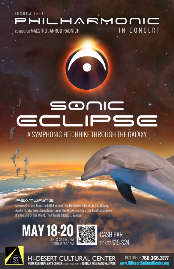 "JOSHUA TREE PHILHARMONIC | ""Sonic Eclipse—A Symphonic Hitchhike Through The Galaxy"""