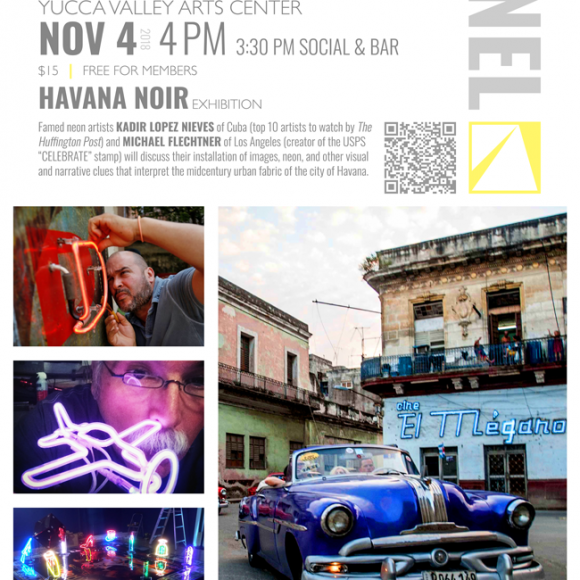 "ART PANEL DISCUSSION  — ""Havana Noir"""