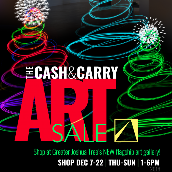 Cash & Carry Art Sale DEC 7-22