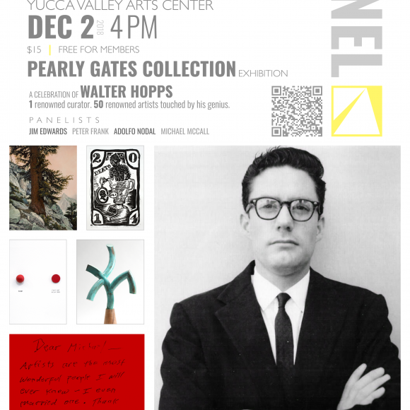 """ART PANEL DISCUSSION  — """"The Pearly Gates Collection"""""""