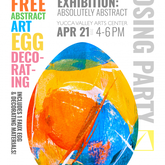 """CLOSING PARTY! —""""Absolutely Abstract"""" Exhibition"""