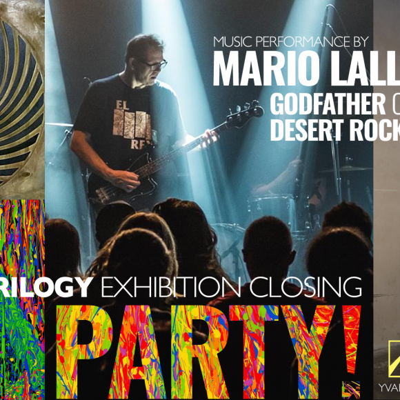 Godfather of DESERT ROCK Music Performance & Exhibition Closing Party!